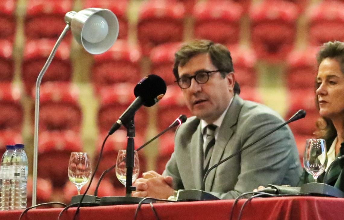 """""""Os toureiros jovens têm que dar mais um passo em frente, para que comece a ser mais fácil montar cartéis"""", diz Rui Bento Vasques (c/som)"""