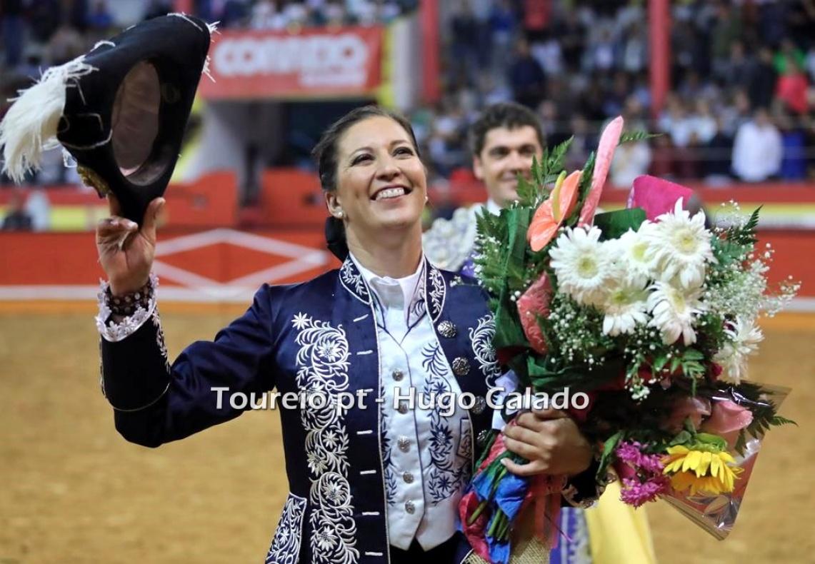 """""""Primeiro tourear bem e depois alegrar o público"""", diz Ana Rita (c/som)"""