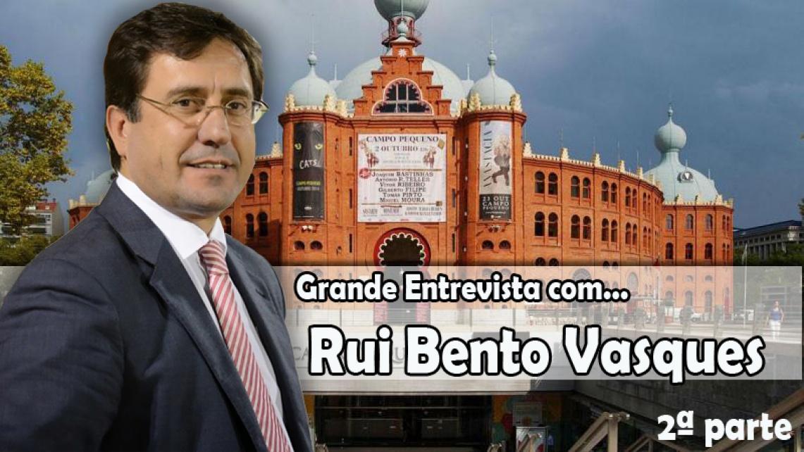 """""""Há toureiros que, à partida, recusam algumas ganadarias"""", diz Rui Bento Vasques"""