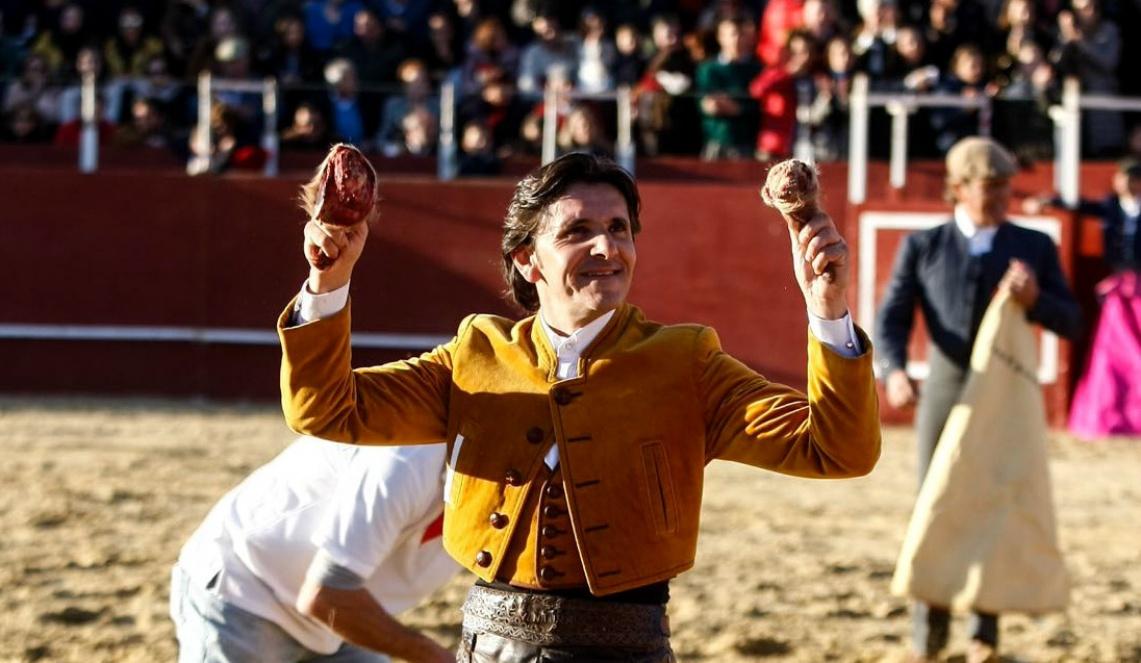 Ventura triunfa em mano-a-mano com Andrés Romero. Veja as imagens de Lucena del Puerto (c/fotos)