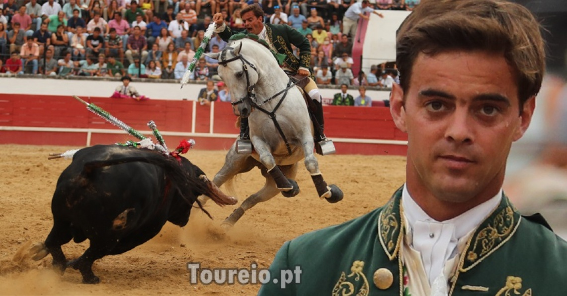 """""""Gostava de tourear um mano-a-mano com António Ribeiro Telles (…), ou com Moura Júnior ou com Rui Fernandes"""", diz Francisco Palha"""