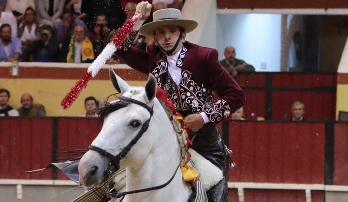 """""""É um público exigente, mas também não pude fazer o meu toureio nos dois primeiros touros"""", diz Diego Ventura sobre Vila Franca (c/som)"""