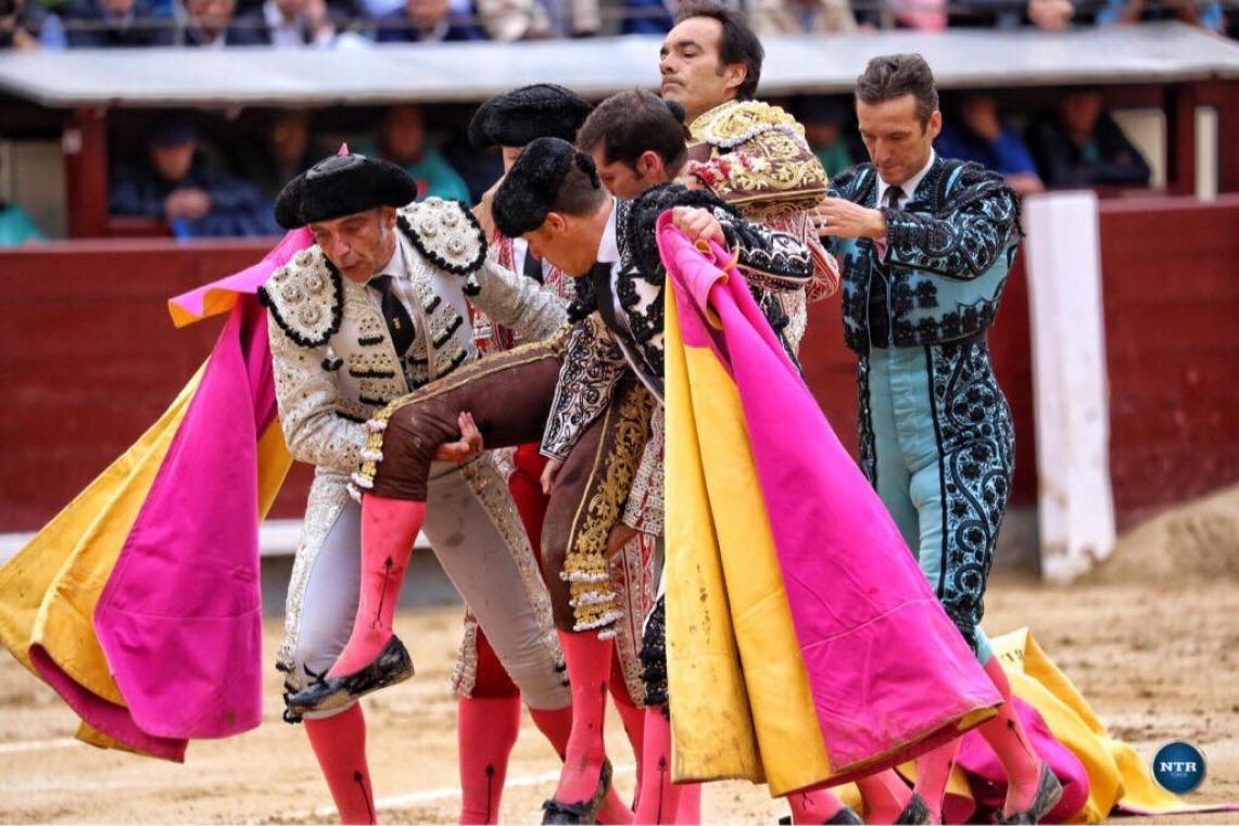 O video da impressionante colhida de El Cid esta sexta-feira em Madrid (c/video)