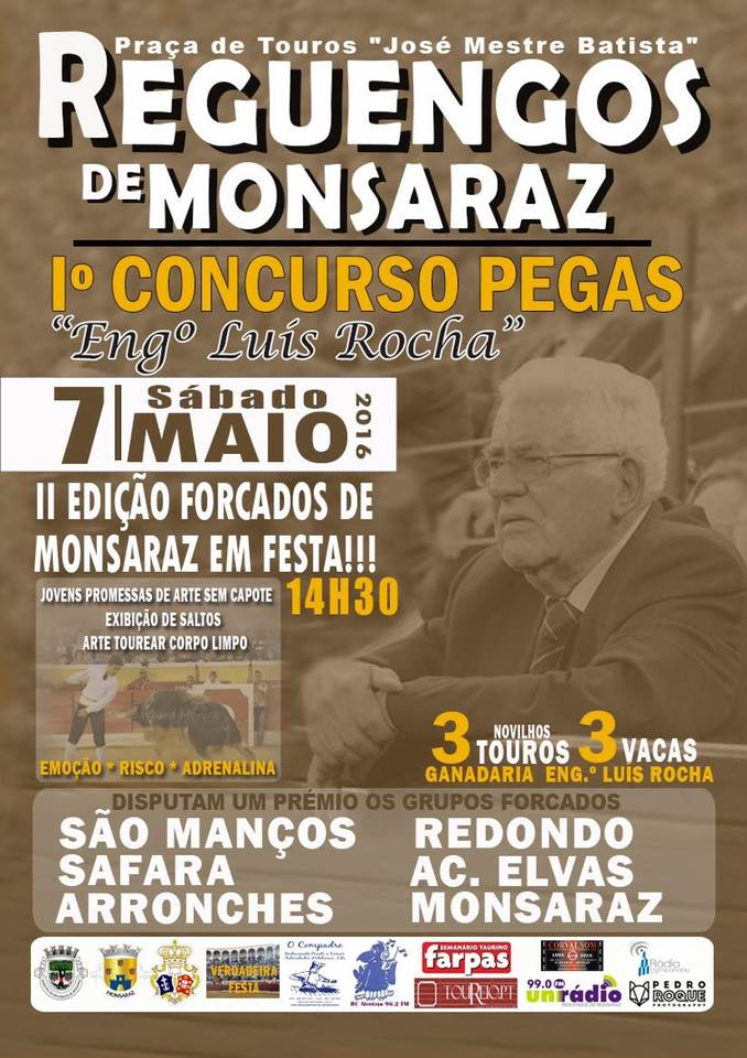 Cartaz do concurso de pegas